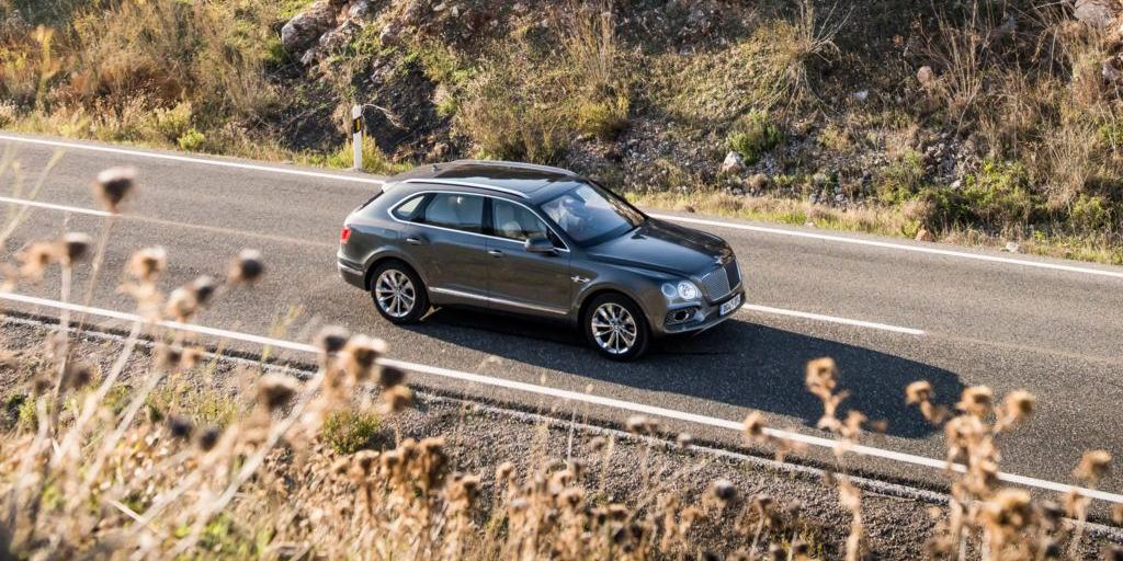 2017 Bentley Bentayga SUV Luxury