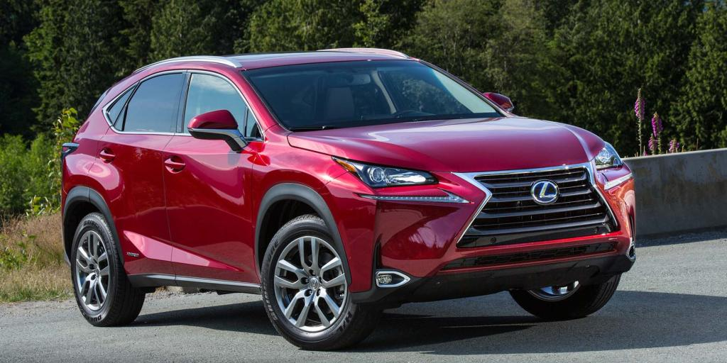 Lexus NX 300h Review