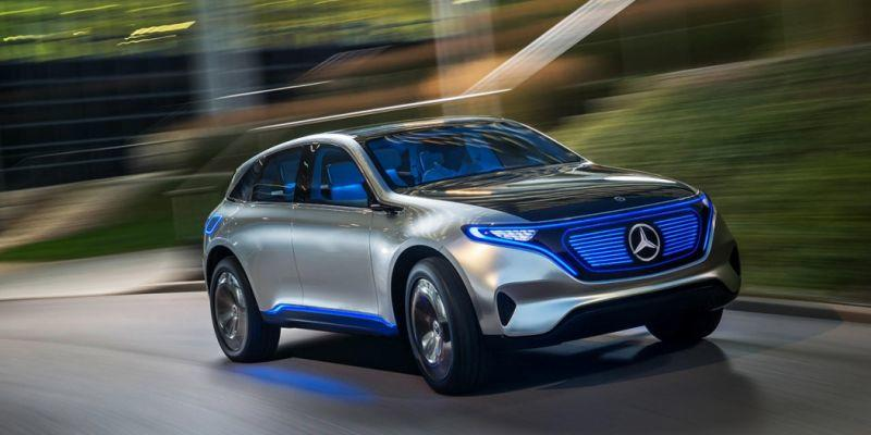 So It S Created A Whole New Brand For Mercedes Benz All Electric Vehicles
