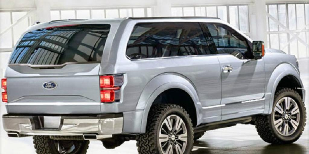 new ford bronco rear