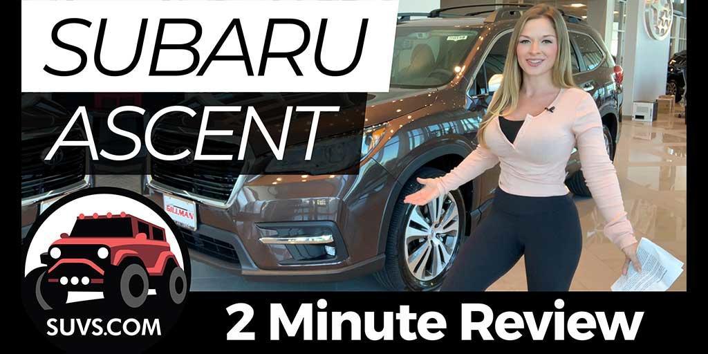 Gillman Subaru North >> 2020 Subaru Ascent - 2 Minute Review - News
