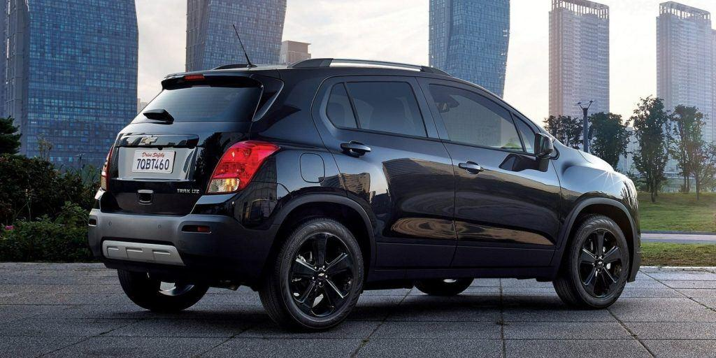 chevrolet trax midnight