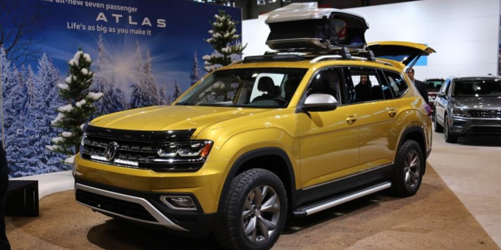 Vw Atlas Weekend Edition Concept Suv Perfect For Camping Suvs Com