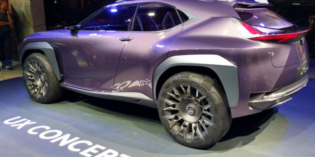 Lexus Ux Lincoln Navigator Suv Concepts News Suvs Com
